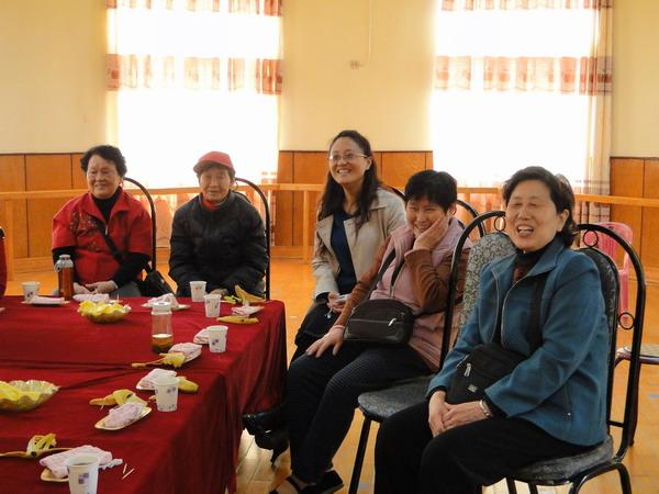 幼儿园 退休教师/双幼退休教师回娘家,叙友情,快乐生活活动