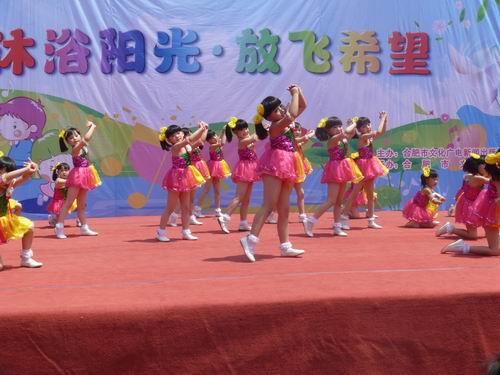 六一儿童舞蹈妆容
