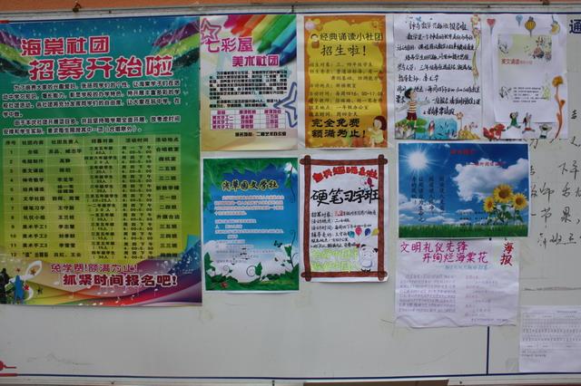学校社团海报_学校社团文化周宣传海报设计海报设计