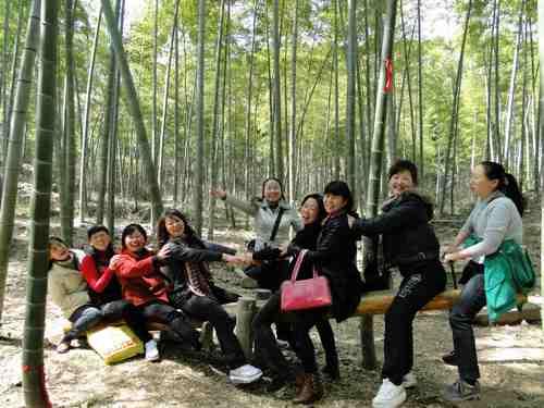 宿州路幼儿园教师春游