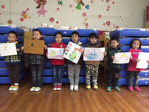 校园快讯 幼儿园新闻  2014年11月,12月,合肥市委机关海棠幼儿园开展