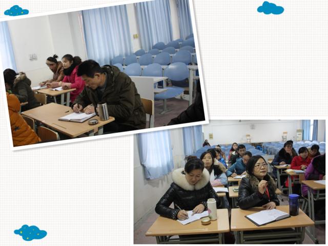 海棠开展教师写字培训 横平竖直 感受汉字美