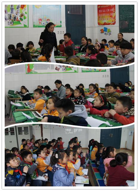 两只老虎》,学生们以吹奏口风琴的形式开始了一天的学习.李