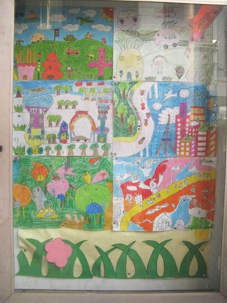 我的中国梦儿童绘画作品12-书画廊-快乐城堡-团中央