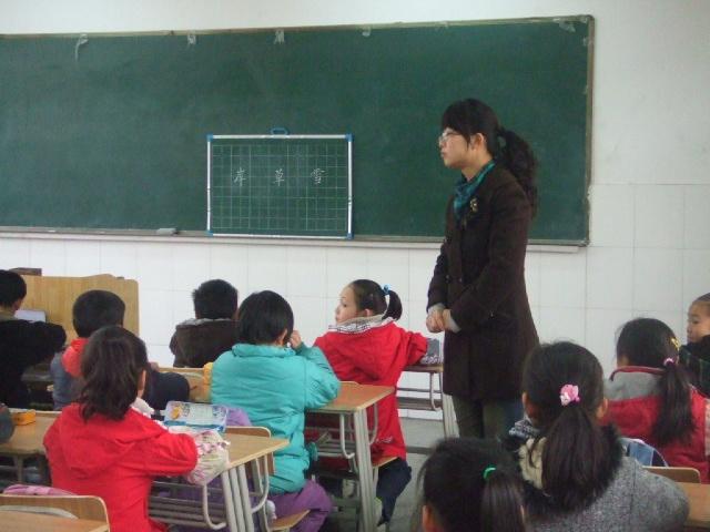 书法教育教学研讨活动,共有17位兼职书法教师参与了此次活动,