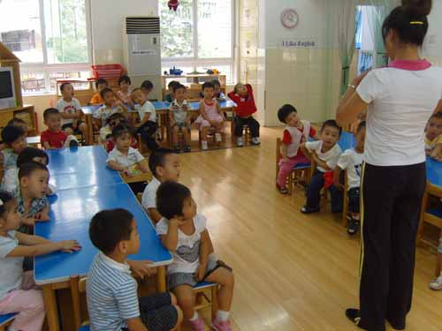 农村幼儿园的普通话教学