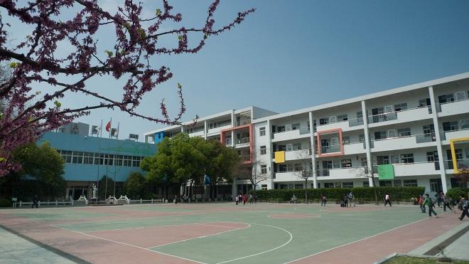 小学风景绘画春天