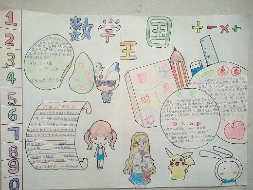合肥市亳州路小学数学组组织四-五年级学生举行手抄报展示活动,这也是