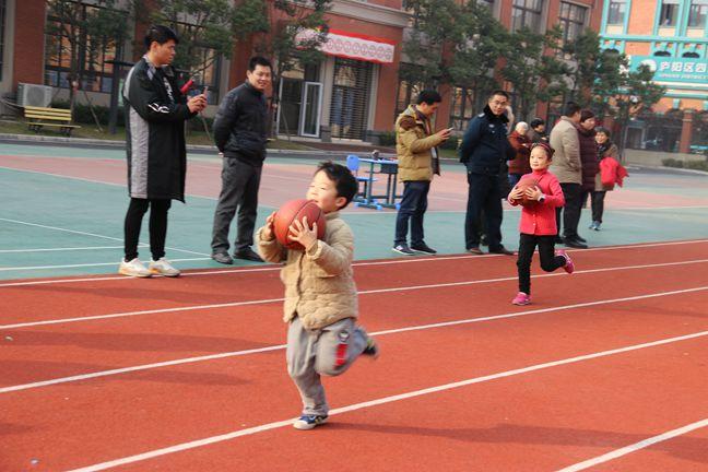 南小森林城:开展冬季体育节趣味运动会