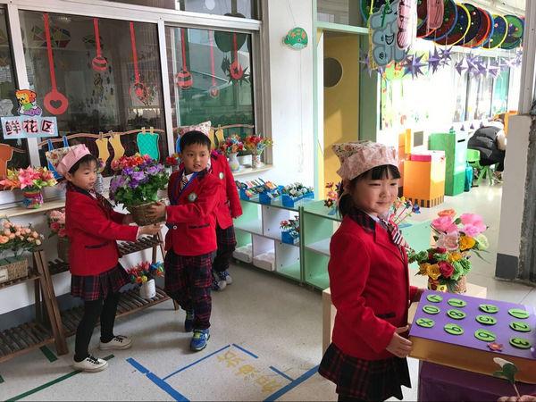 首页 新闻中心 校园快讯 幼儿园新闻     大一班的美美花店开业了