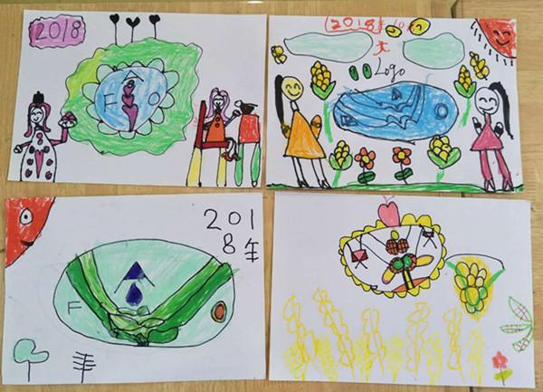 谁知盘中餐,粒粒皆辛苦随着这朗朗上口的古诗,2018年10月16日我们又迎来了世界粮食日。为了帮助幼儿了解粮食的重要性,养成爱惜粮食,节约粮食的好习惯,激发幼儿对劳动人民的尊敬之情,市委幼教集团红玺台幼儿园开展了爱惜粮食,从我做起为主题的世界粮食日系列活动。   这次的活动贯穿了小班、中班和大班三个年级组的所有幼儿。小班的幼儿年龄较小,对于爱惜粮食的概念并不是很清楚。于是,老师带领孩子们一起观看了关于爱惜粮食的小视频,孩子们对于小视频非常感兴趣,通过小视频也认识了一些粮食的种类,同时也知道了